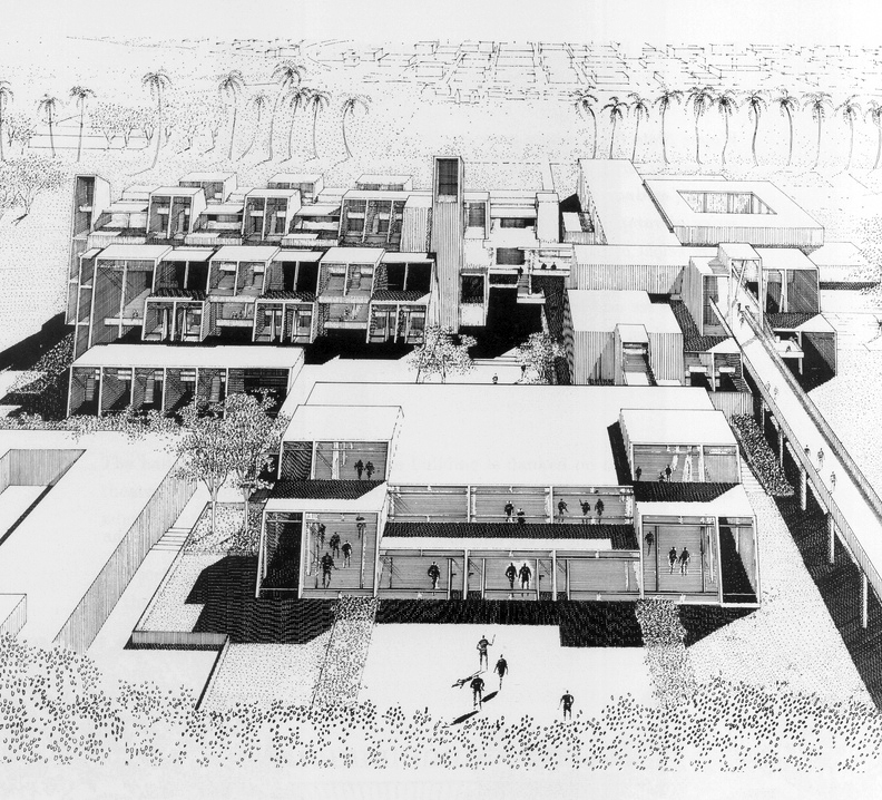 Visual Arts Center, 1965