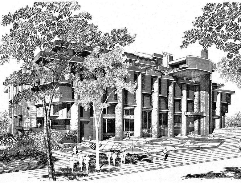 Monteith College Center, 1966