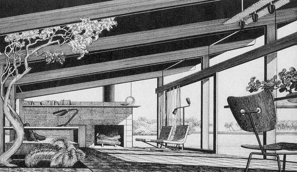 Interior Perspective Rendering