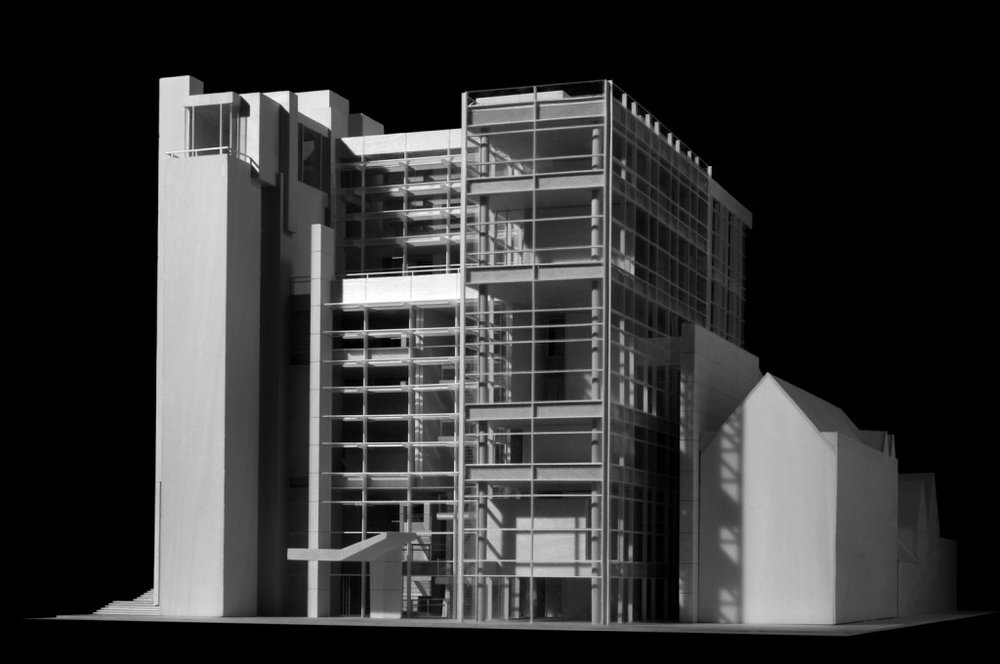 Renderings:  Richard Meier & Partners Architects  Model Photography:  Jock Pottle