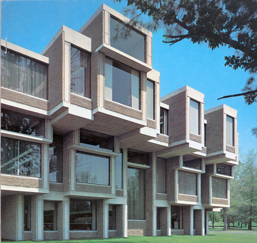 Paul Rudolph's Orange County Government Center in Goshen, New York. Photo: Paul Rudolph Heritage Foundation