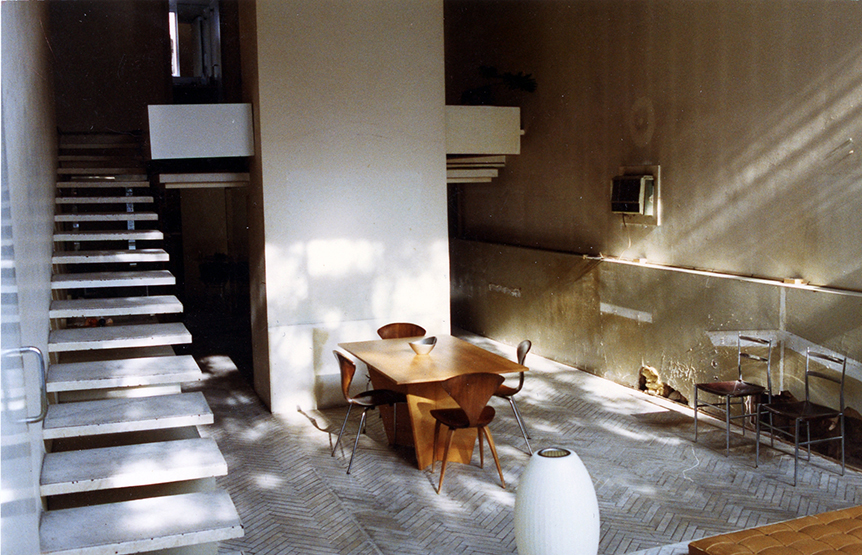 Photo of Rudolph's residence taken in the early 90's. Photo: Robert Schwartz; Paul Rudolph Heritage Foundation Archives
