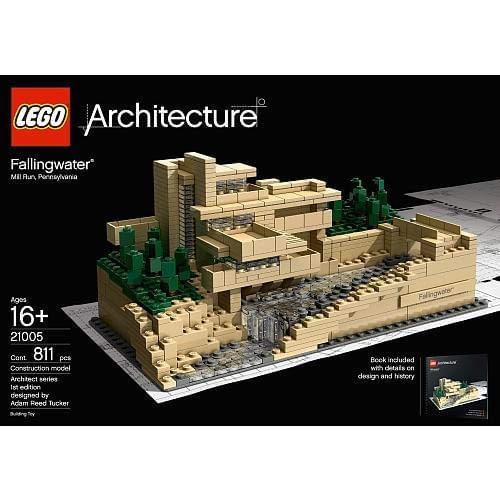Fallingwater in Lego. Image: Amazon