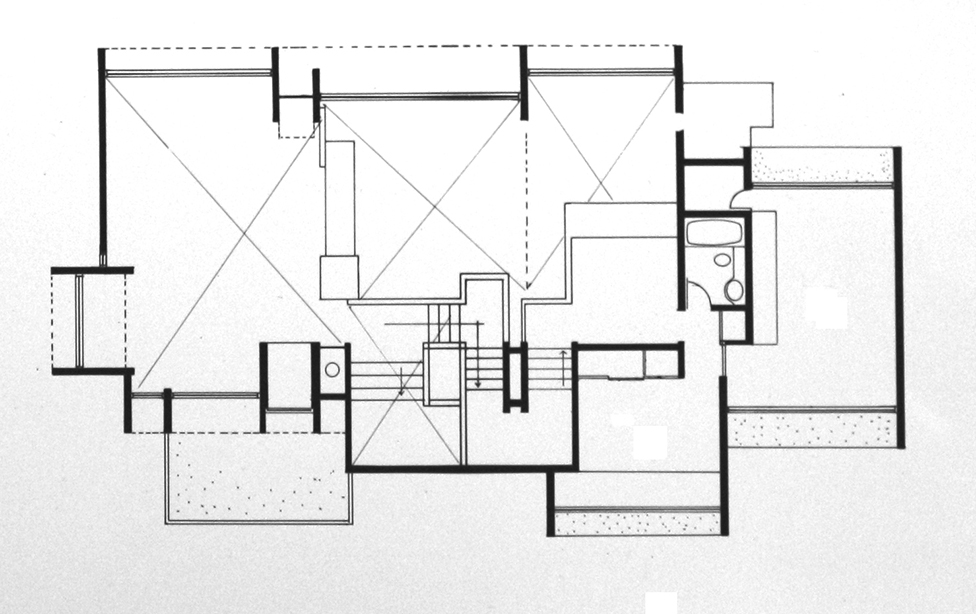 Third Floor Plan. Image: Paul Rudolph Heritage Foundation Archives