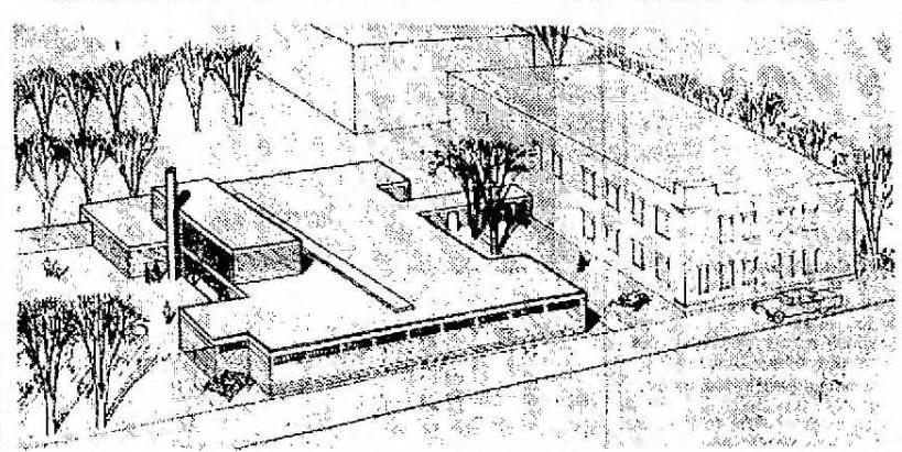 Juvenile Home Addition, 1961