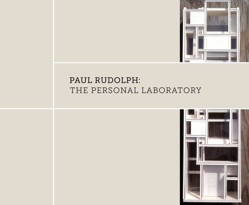 """The Personal Laboratory"" exhibit focused on the homes and workspaces that Rudolph crated for himself, wherever he settled. It's catalog is richly illustrated, containing much of that material—as well as fascinating documents & memoirs of people who knew and worked for Rudolph.    Photo: Paul Rudolph Heritage Foundation"