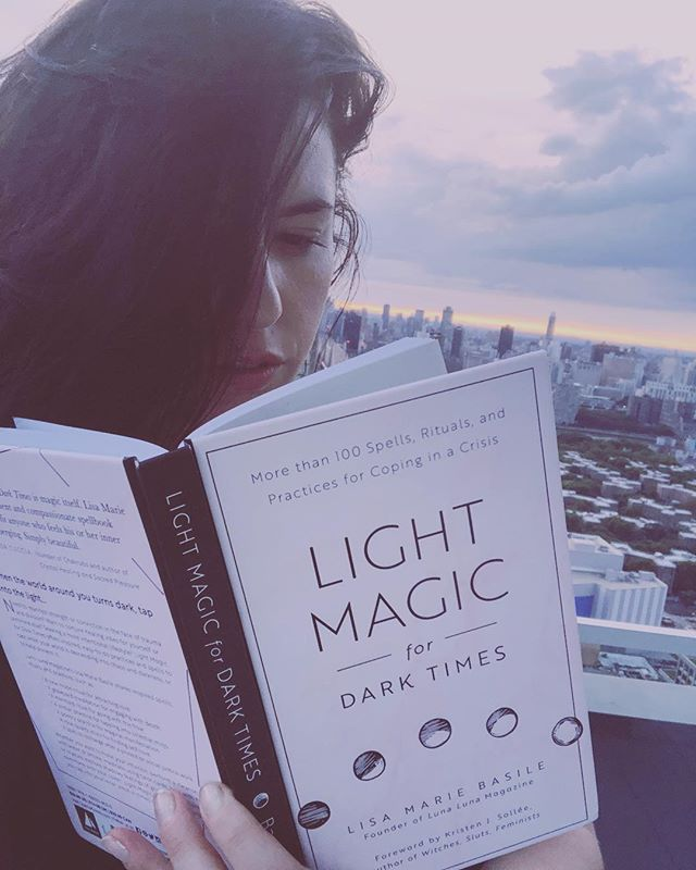 ONE MONTH UNTIL Light Magic For Dark Times is released! (9/11 in the US + Canada and 9/13 in the UK, NZ, AUS). ☠️🌸 You can preorder through the link in my bio!