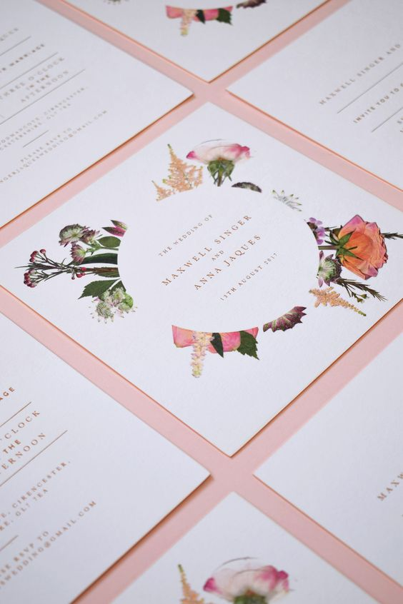 Let's Get Personal - We are ready to design thoughtful & intentional stationery for your wedding! Please fill out the stationery information form so that we can accurately design your invitations!