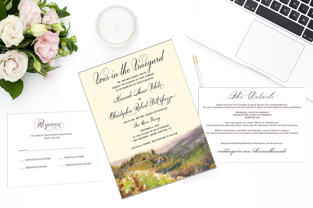 "Made the necessary changes! So glad you guys liked this design, and yes we can do half RSVP cards with ""name,"" and the other half with ""names."""