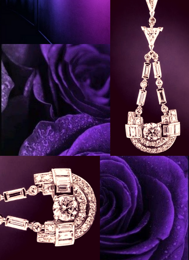 The color  purple  is often associated with royalty, and also represents devotion and peace. ( Taking the simple route will certainly invoke peace. ) These are all ideas/words that I'd like your guest to walk away with after opening your invitation!