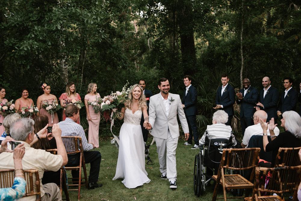 Orlando Backyard wedding photographer