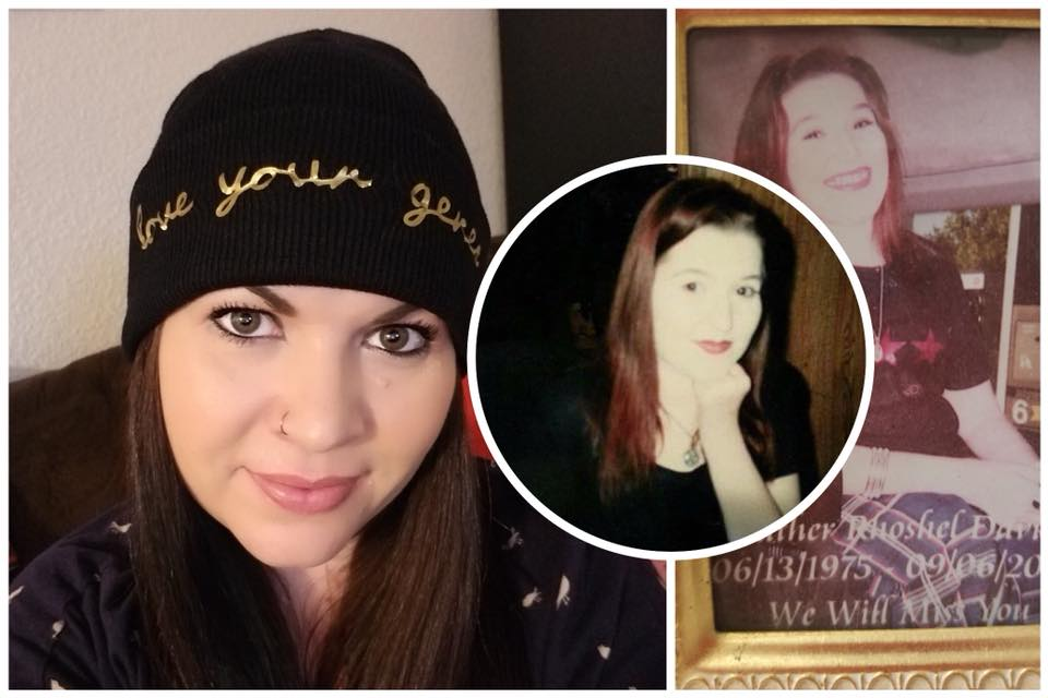 """Stephanie's Story - We are incredibly humbled & thankful to be able to share Stephanie's story of a sisterly bond for Project Wear Your Genes with the world. Stephanie shares her story of her bond with her sister Heather, who had SMA (Spinal Muscular Atrophy) & how Heather continues to inspire Stephanie, even after her passing.""""My name is Stephanie and my oldest sister Heather had SMA; she passed away in 2004 at the age of 29. Heather was, and still is, an inspiration to me and many others. She never let her disability hinder her life in any way. Growing up we went to hundreds of concerts together; she is the reason why I am the music lover I am today. I have another sister, Angela, as well. Angela and Heather were like peanut butter and jelly, being only 15 months apart. They had all the same friends and I was always trying to tag along. Heather lived a full life of love and friendship. She had a job, went on vacations, got engaged...everything, and more, that most normies do. In short, Heather is my Angel and I talk to her every day and I carry her ashes around my neck in a pendant that never comes off. Her smile was infectious, her laugh was even more so. She taught me that I should never complain, because she never did.""""To learn more about SMA & how to get involved, check out the website belowwww.curesma.orgThank you so much Stephanie, for sharing your story with us 💖"""
