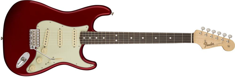American Original 60s Strat - $1,995 +tax & shipping+$350 2-Hour Online Introductory Session with JesseAlder body with lacquer finish; Three Pure Vintage '65 single-coil Stratocaster pickups; Thick