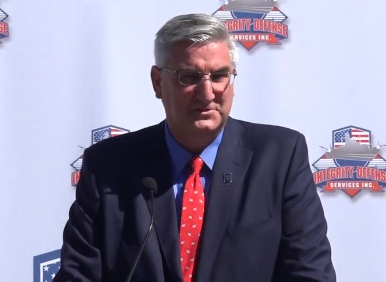 Indiana Governor, Eric Holcomb