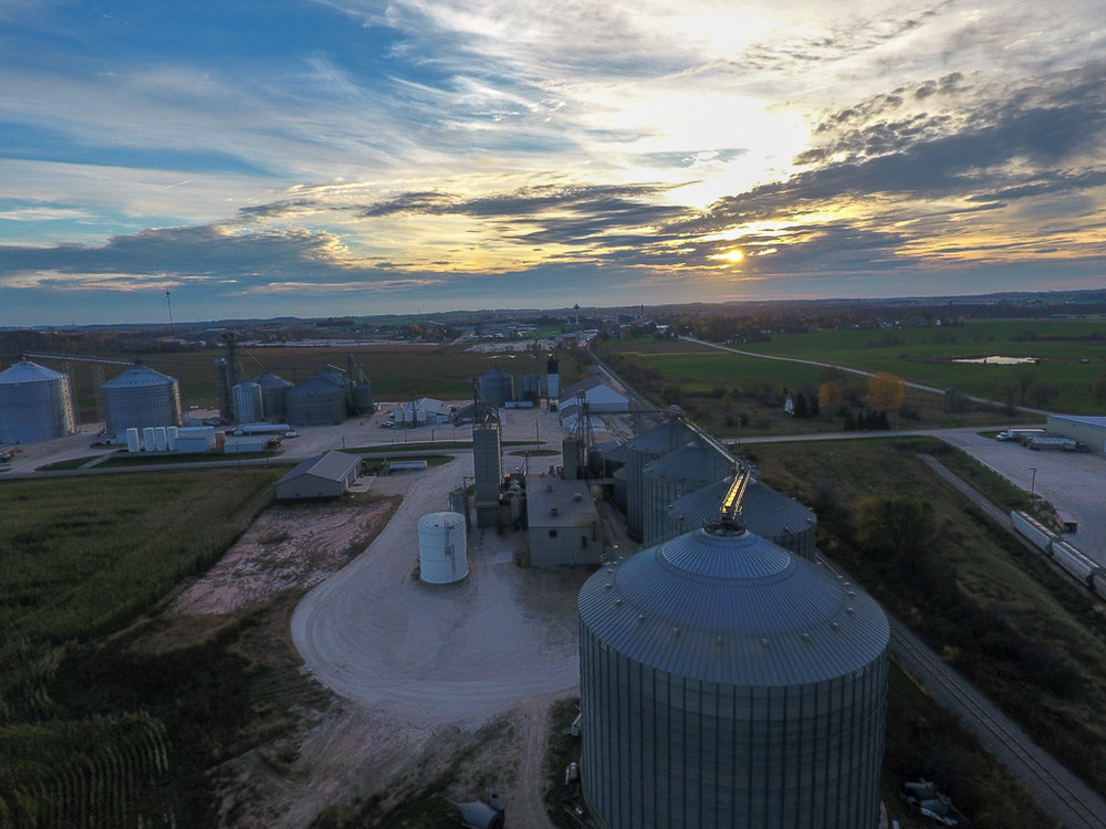 Asset Inspection - Keep your valuable assets protected from the unexpected. Getting aerial vantage points of grain bins, barns, fencing, etc. can help farmers stay ahead of the game by planning out what asset needs their attention to minimize down time.