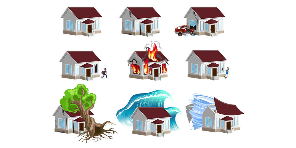 Homeowners Insurance - Your home is usually the most important and expensive asset you will ever own. Make sure your coverage includes all the types of hazardous perils that you may come in contact with.