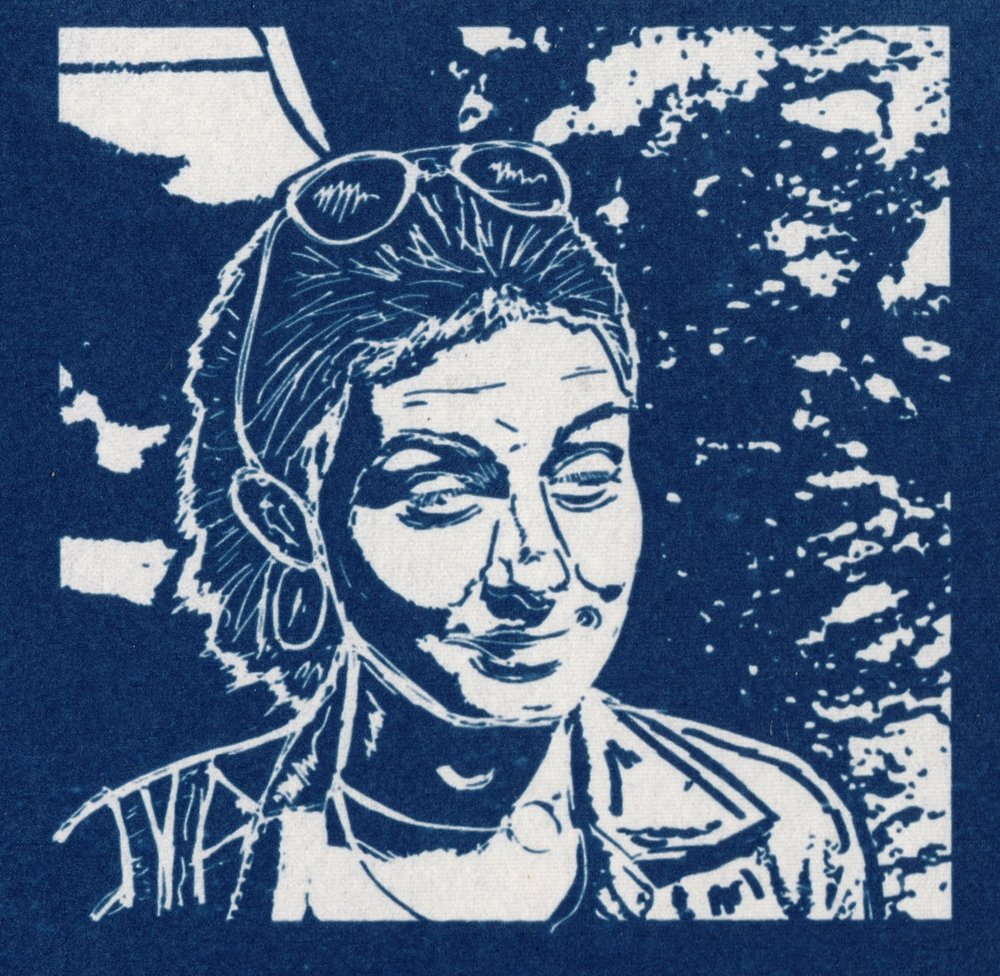 Cyanotype image by  Ed Carr