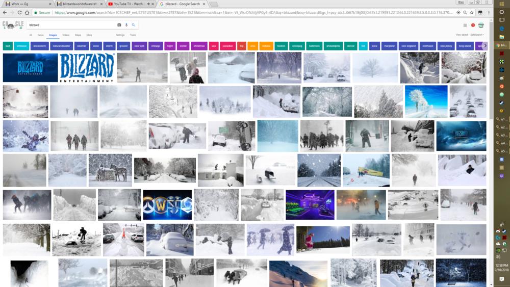blizzard entertainment -