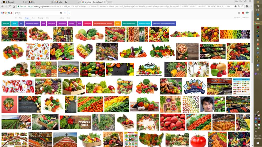 produce -