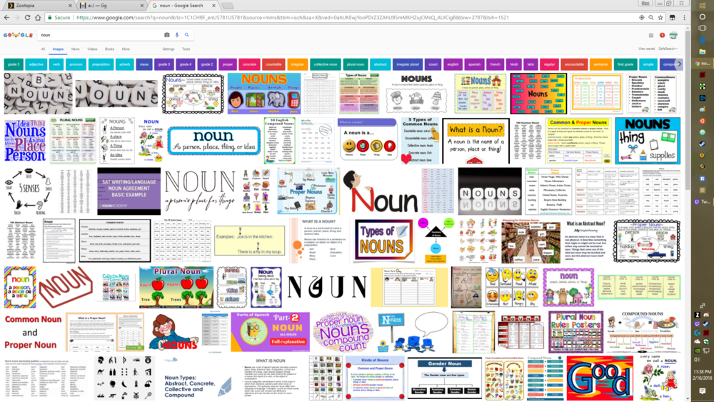 noun -