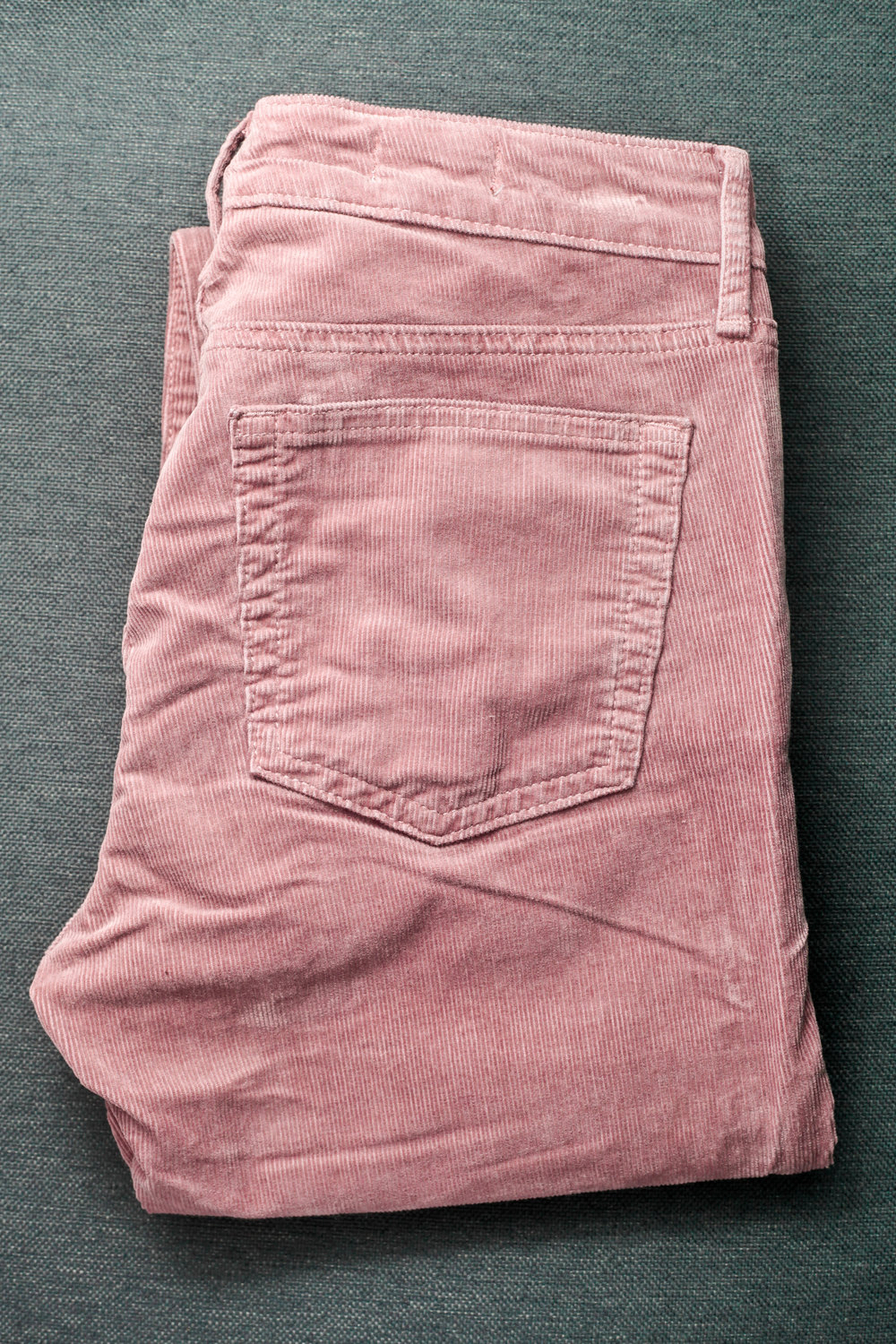 Example of corduroy pants