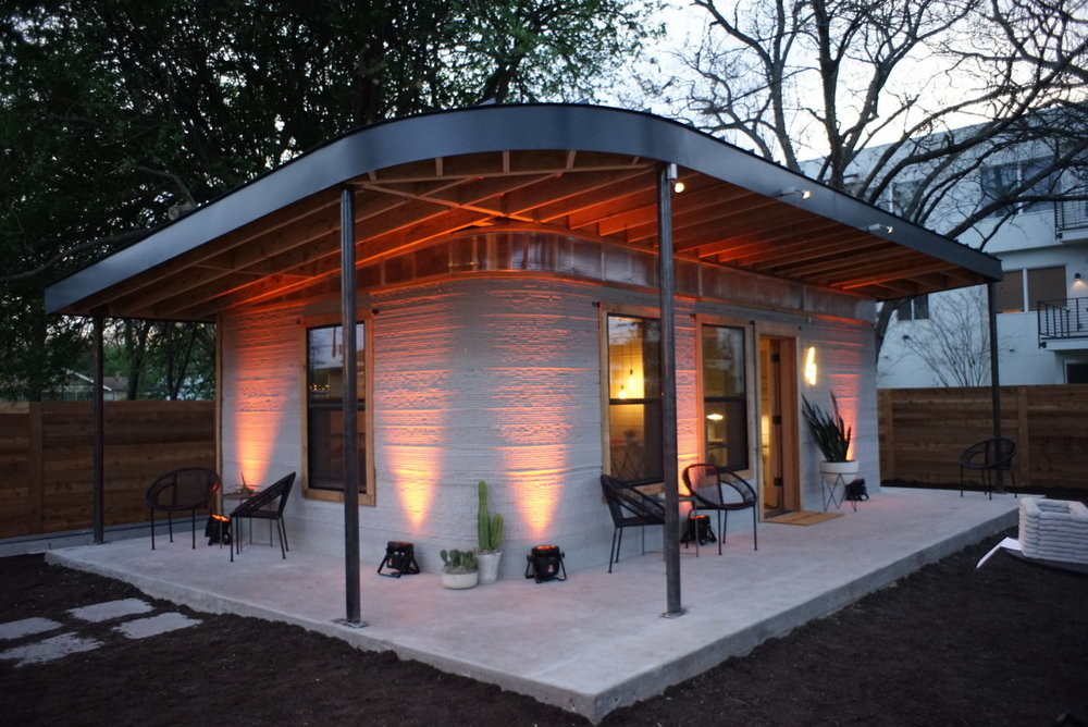You Can 3D Print a Home?  Icon, a construction technologies company in Austin, Texas, recently built the first liveable 3D printed home.  Learn more about their partnership with New Story .