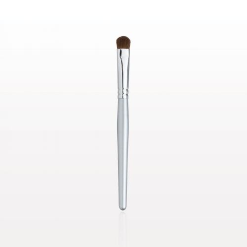 Eye shadow (Multi-Task) Brush:   This brush provides extremely smooth application when used with our wide selection of   Multi-Tasks  . Its wide, densely packed base of firm fibers lays down color and builds intensity. The softly rounded, narrow tip perfectly enables detail work like   highlighting   the brow bones or accenting the inner corners of the eye.   Special Tip :For green eyes: Purple is the opposite color of green, It makes your green eyes pop if you use colors that have red undertones, like our   Fig   and   Eggplant     Multi-Tasks ,  anything that has colors of deep plum and wine.