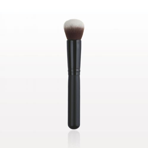 Long Handled Kabuki Brush  : Get the perfect TFC   foundation   application when using this full coverage Kabuki Brush.   Special Tip:  During hot humid weather, wet your brush before applying your favorite TFC   Foundation .  This will help your makeup adhere to your skin and last much long in hot steamy weather.Try wetting your brush with any of our   natural facial mists .