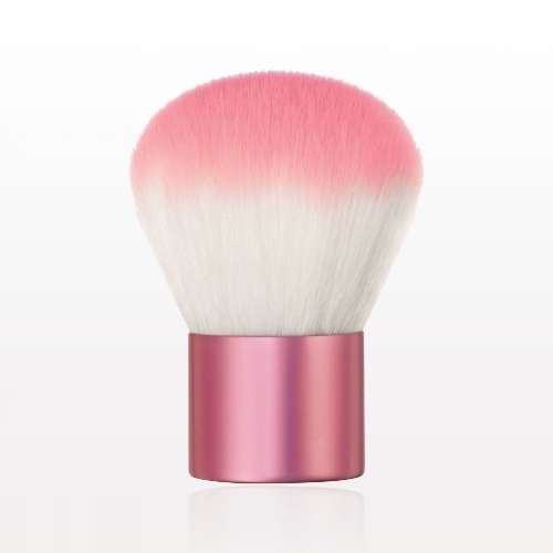 Perfect Complexion Small Handled Kabuki Brush:  Get the perfect TFC  foundation  application when using this build-able coverage Kabuki Brush.This brush is  fantastic at applying any of our   Loose Powder Foundations   ;  it's quick, effective and almost foolproof as you literally just dip it into product and lightly buff it all over the skin; it takes seconds and the finish is beautifully airbrushed and natural. If you need a bit more coverage you can layer really well with it too.   Special Tip:  This brush can be used as a body   bronzer  , body contouring brush.