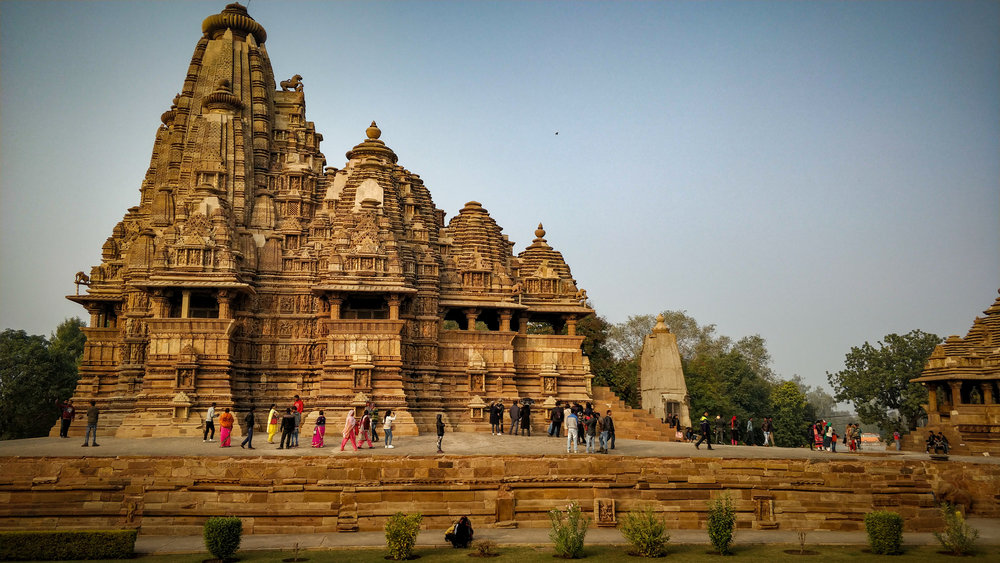 The Western group of temples instills a sense of calm and awe with its sheer magnificence and scale.