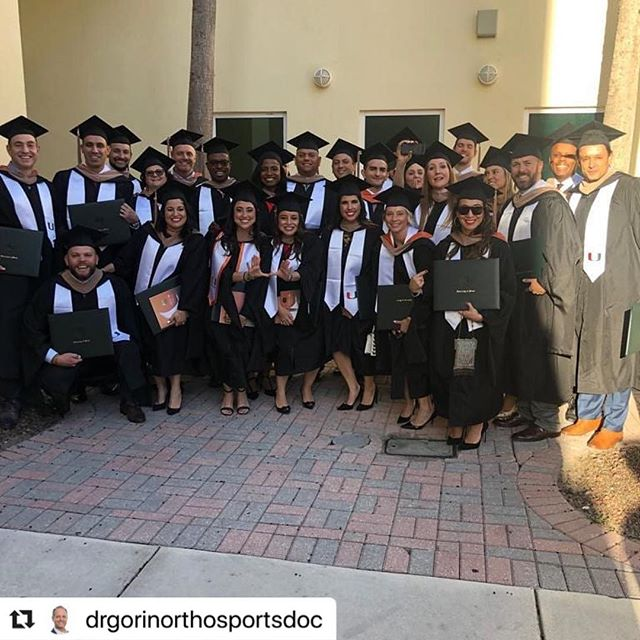 Congrats to FT client @drgorinorthosportsdoc on finishing his MBA at UM @miamihurricanes  #Repost @drgorinorthosportsdoc with @make_repost ・・・ Proud to have graduated today from the University of Miami with my MBA in Healthcare. Proud to have done so with an awesome group of friends and lifelong colleagues.
