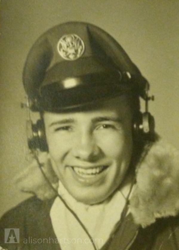 My father, Eveard Hartson, U.S. Air Force -