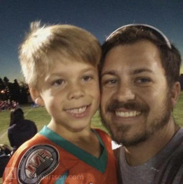My brother Matt, and his son Elijah -