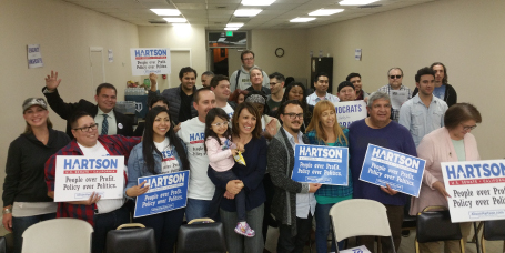 Campaign Office(Rancho Cucamonga) - 10630 Town Center Dr, Suite 114 Rancho Cucamonga, CA 91730Open 7 days a week11am-9pmJerry Perez - Field Director909-489-2516Jerry@alisonhartson.comCome learn how to get involved. Please RSVP for an event on the calendar. To stop by, be sure to contact me. Lets go out and spread the word about Alison's Campaign! Looking forward to seeing you all here! -Jerry