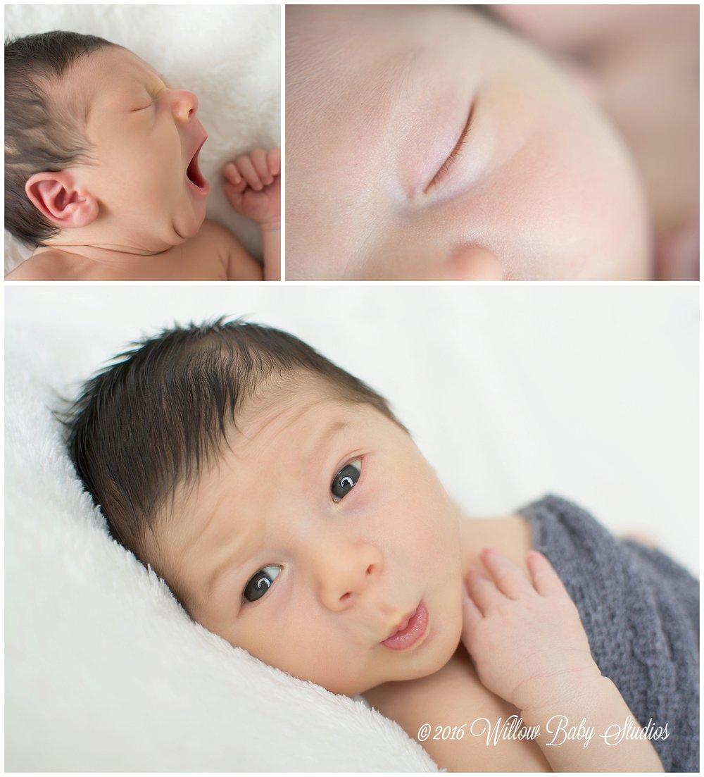 set-of-three-photos-newborn-yawning-close-up-lashes-zoolander-face