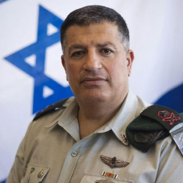 Maj. Gen. Mordechai, head of Coordinator of Government Activities in the Territories (COGAT)