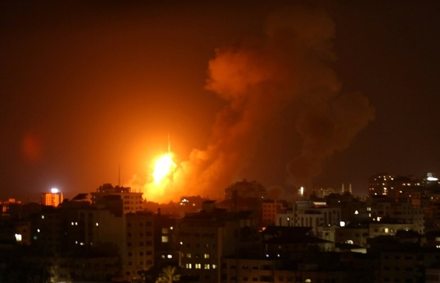 On Wednesday August 8, Israel dropped 140 bombs on Gaza. The strikes killed a pregnant woman and her 1 1/2 year old daughter, among others.