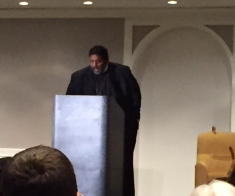 We were privileged to hear from the Rev. Dr. William J. Barber, II  ( national co-chair of the 2018 Poor People's Campaign: A National Call For Moral Revival) as he spoke at the US Campaign for Palestinian Rights conference, fall 2018