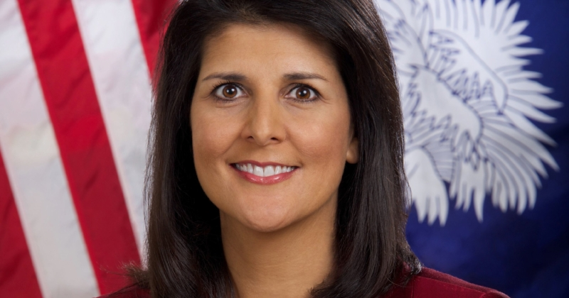 Nikki Haley, soon-to-be former US Ambassador to the United Nations