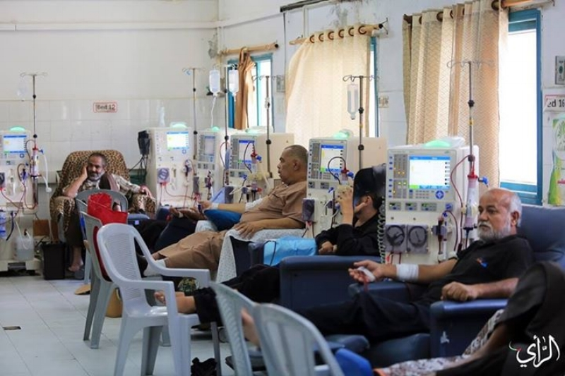 Renal failure patients in Gaza