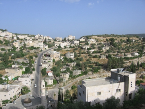 General view of Battir