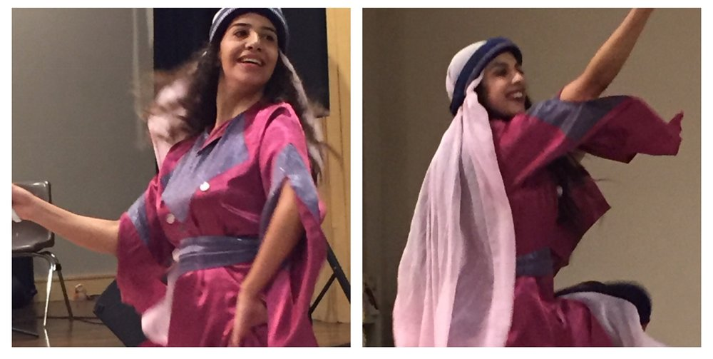 The Diyar dance troupe from Bethlehem treated us to traditional and interpretive dance