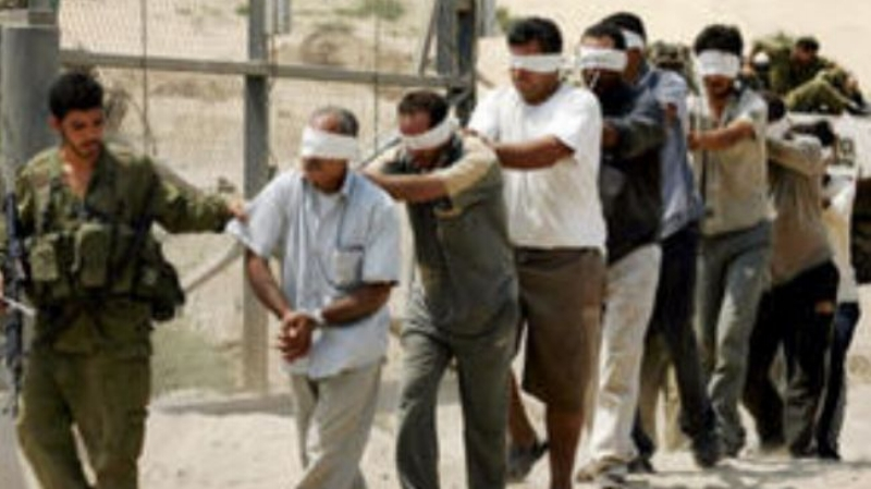 Palestinian administrative detainees - held without charge (illegally)
