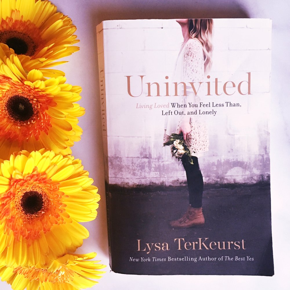 Uninvited Lysa terkeurst book recommendation