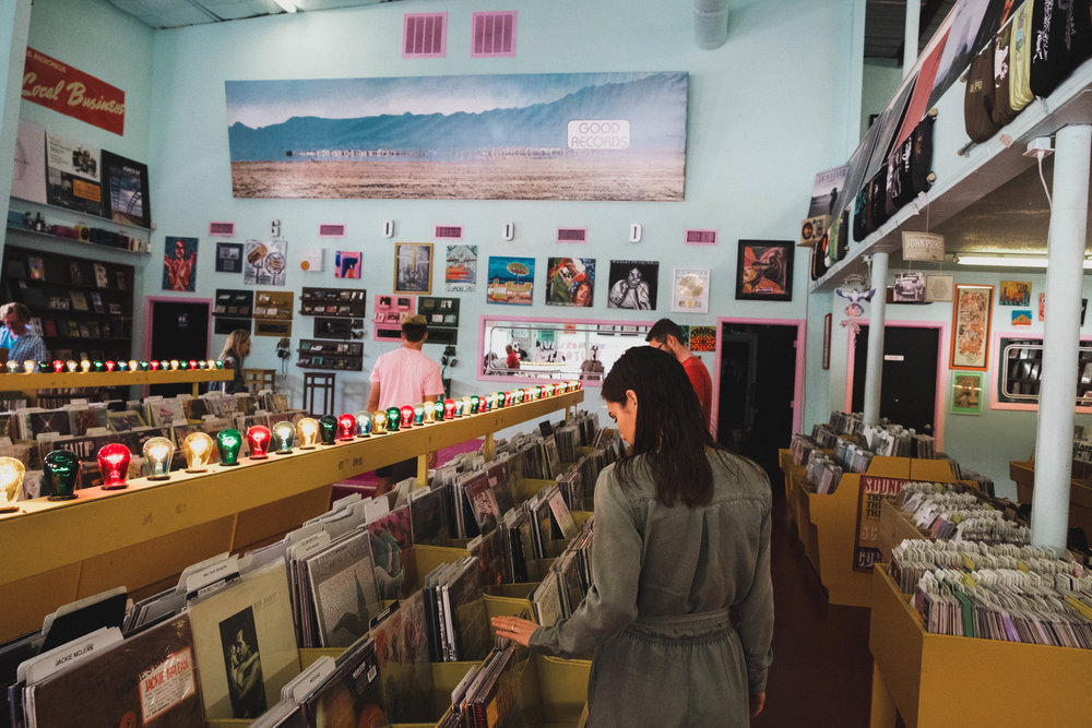 Dallas Good Records, Wellness Blogger Photos by Rosie De La Cruz