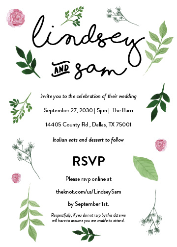 dallas affordable wedding invitations