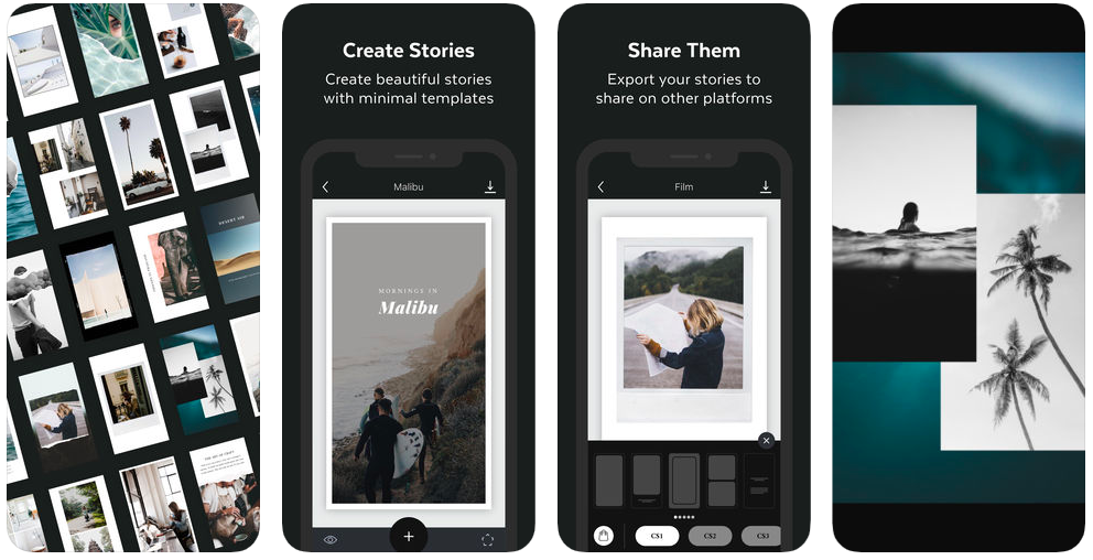 Unfold App - 5 Instagram Stories Apps I can't live without