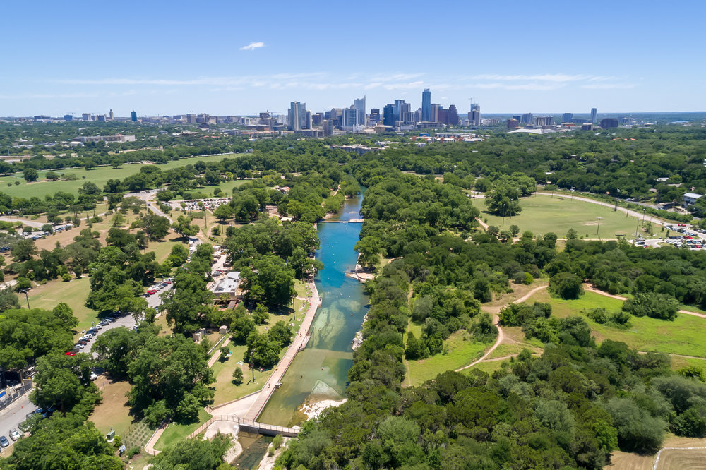 Barton Springs and Zilker Park