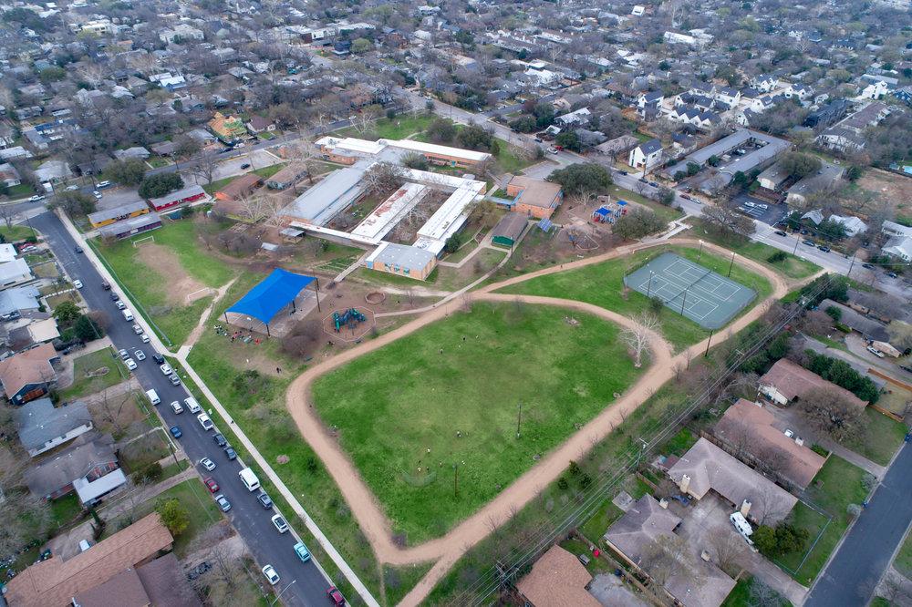 Zilker Elementary & Little Zilker Park