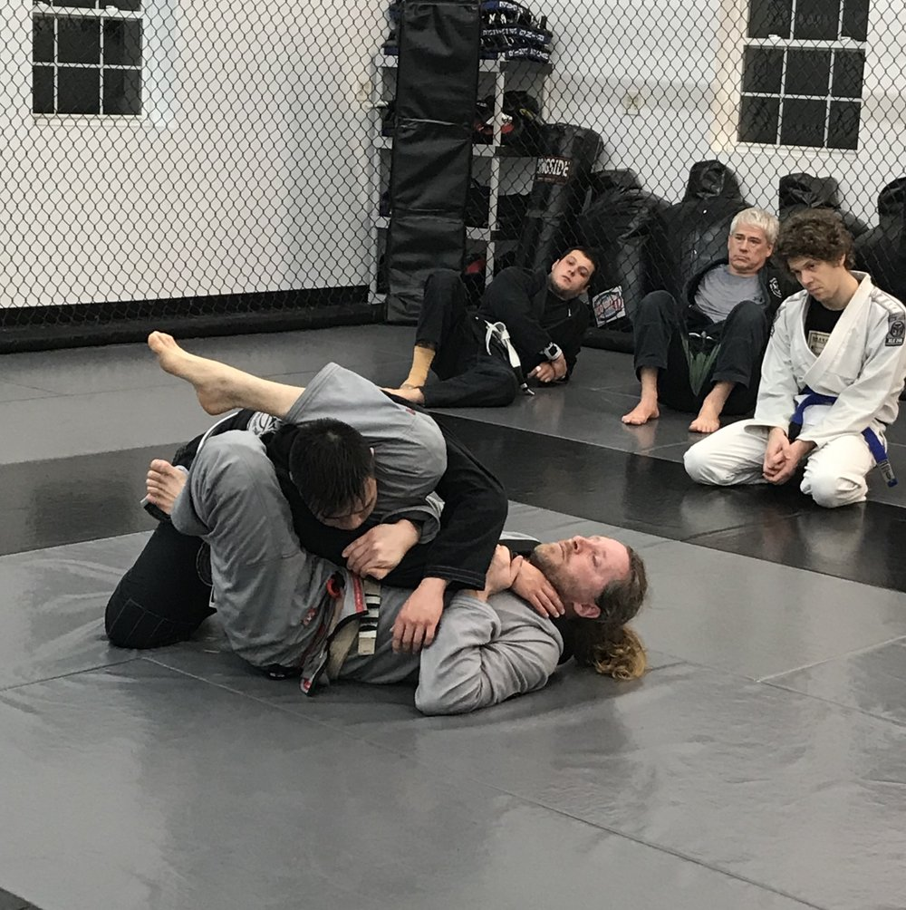 Arthur Haines   arthur was one of the Academy's first students, back in 2003. He currently holds a brown belt in jiu-jitsu and his primary focus is teaching the basics and fundamentals of BJJ.Arthur Haines